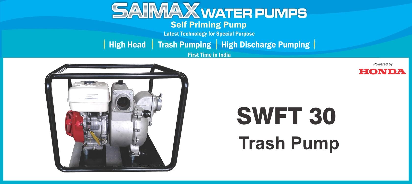 Trash Pumps - SWFT30   Sai Gensets Private Limited, Somwar Peth
